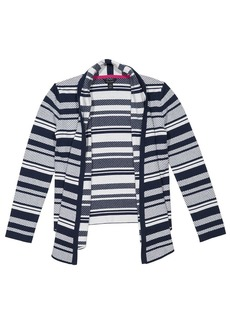 Tommy Hilfiger Girls' Big Jacquard Stripe Sweater