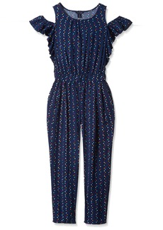 Tommy Hilfiger Big Girls' Printed Jumpsuit