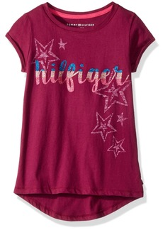 Tommy Hilfiger Girls' Big Sequin Tee