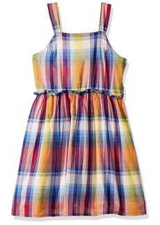 Tommy Hilfiger Girls' Big Sleeveless Dress