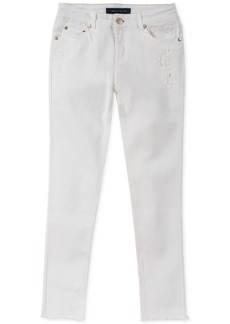 Tommy Hilfiger Big Girls Star-Patch Skinny Jeans