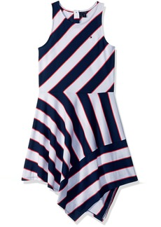 Tommy Hilfiger Girls' Big Stripe Dress