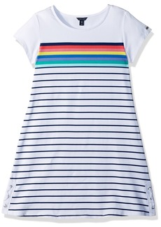 Tommy Hilfiger Big Girls Stripe Dress