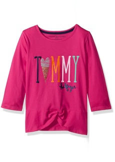Tommy Hilfiger Big Girls' Tommy Knot Tee