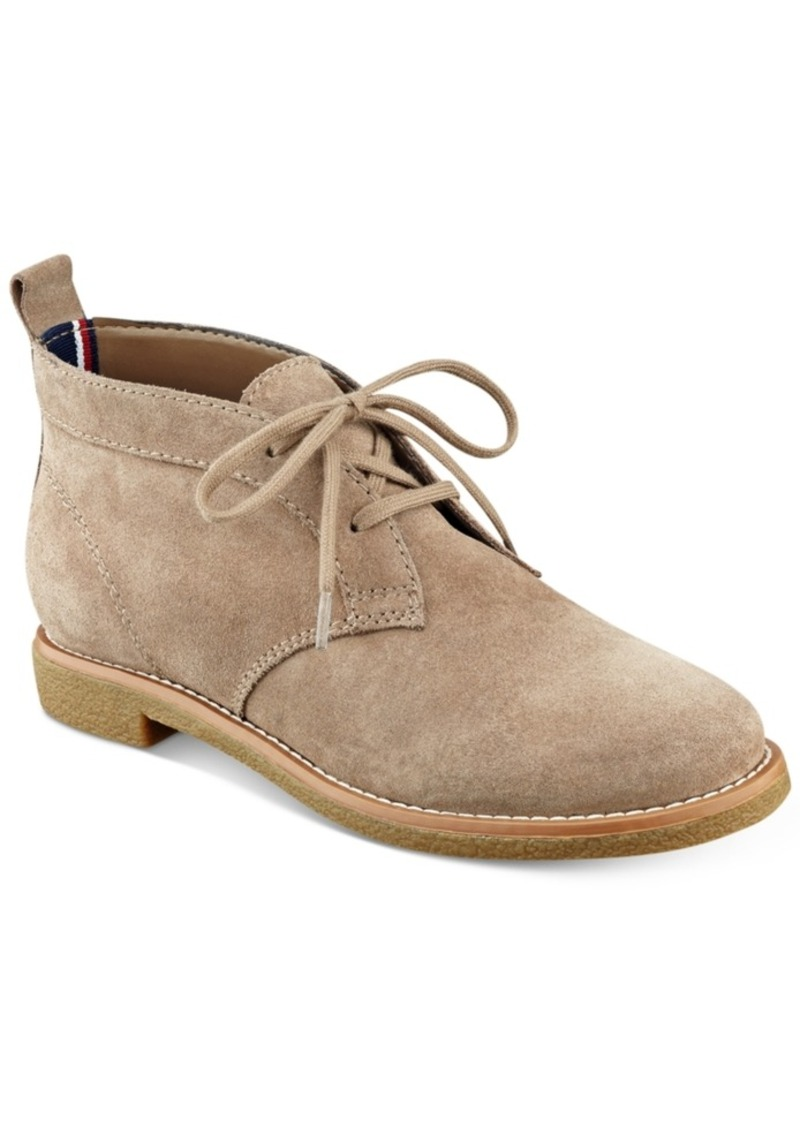 51bc17609 Tommy Hilfiger Tommy Hilfiger Blaze Lace-Up Oxford Booties Women s ...