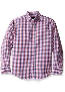 Tommy Hilfiger Boys' Alternating Gingham Shirt
