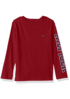 Tommy Hilfiger Boys' Big Long Sleeve Tee