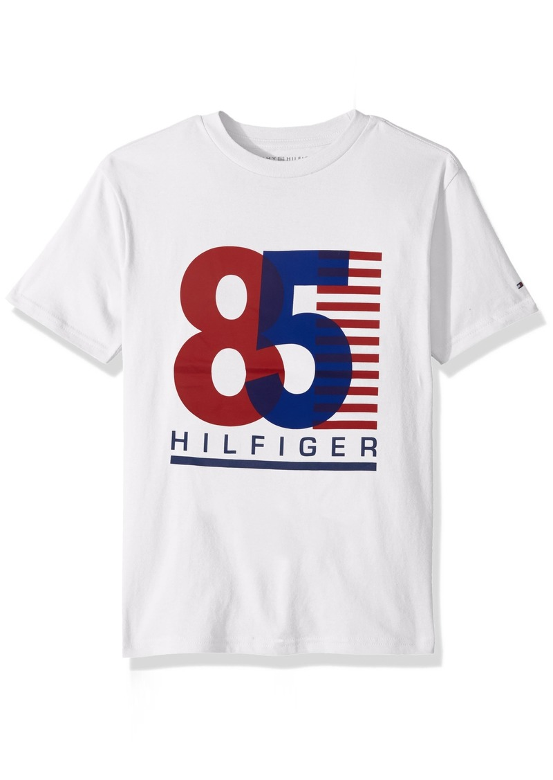 08a44797c Tommy Hilfiger Tommy Hilfiger Boys' Big Short Sleeve Graphic T-Shirt ...