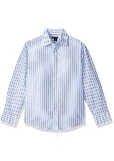 Tommy Hilfiger Boys' Double Twill Stripe Shirt
