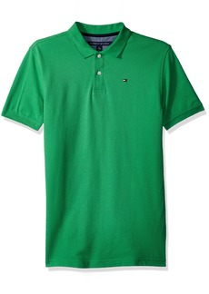 Tommy Hilfiger Boys' Little Short Sleeve Solid Ivy Polo Shirt