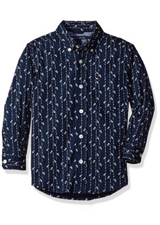 Tommy Hilfiger Boys' Long Sleeve Stripe Shirt