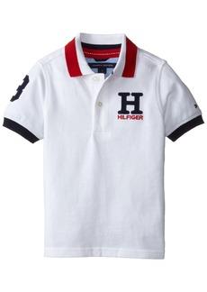 Tommy Hilfiger Little Boys' Short Sleeve Matt Polo Shirt  6
