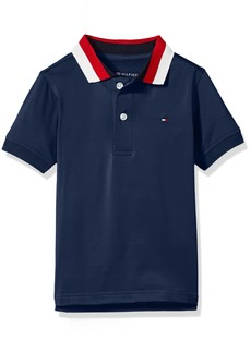 Tommy Hilfiger Boys' Short Sleeve Performance Polo with Tipped Collar