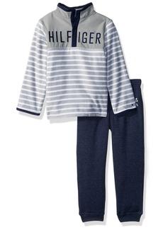 Tommy Hilfiger Boys' Toddler Girls' Fleece Pant Set