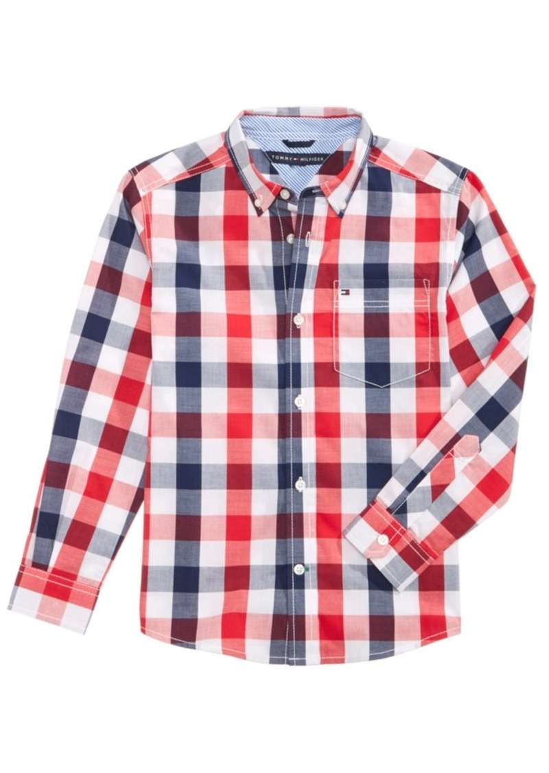 6df2c5a09998b Tommy Hilfiger Tommy Hilfiger Brett Plaid Cotton Shirt