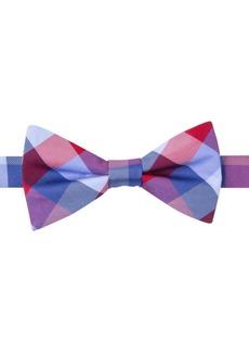 Tommy Hilfiger Buffalo Tartan To-Tie Bow Tie