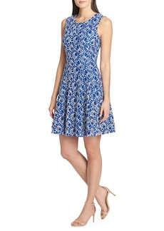 Tommy Hilfiger Bumble Bee Lace Fit-and-Flare Dress
