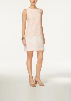 Tommy Hilfiger Burnout Lace Sheath Dress