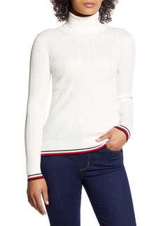 Tommy Hilfiger Cable Turtleneck Sweater
