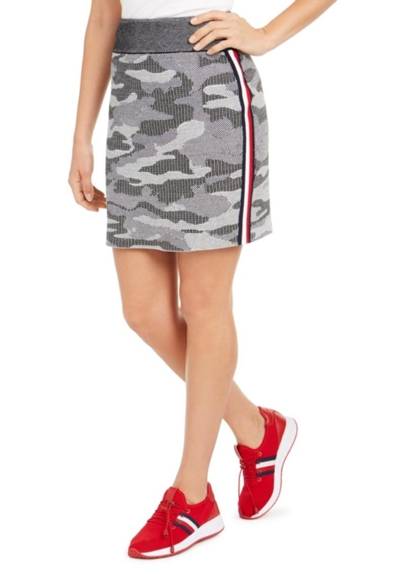 Tommy Hilfiger Camo Mini Skirt