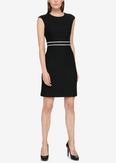 Tommy Hilfiger Cap-Sleeve Ribbed Dress