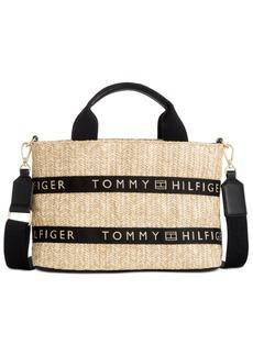Tommy Hilfiger Caroline Paper Straw Shopper