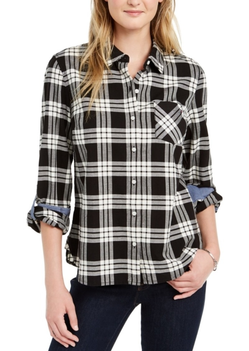 Tommy Hilfiger Check-Print Button-Down Shirt