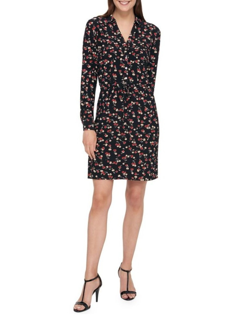 Falred Hem Shirt Dress - Sales Up to -50% Tommy Hilfiger TAm7e