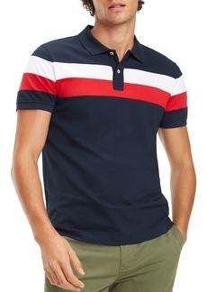 Tommy Hilfiger Chest-Stripe Regular Fit Polo Shirt