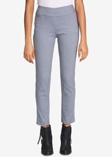 Tommy Hilfiger Chevron-Stripe Pull-On Skinny Pants, Created for Macy's
