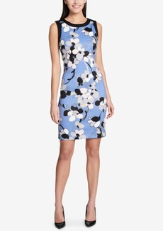 Tommy Hilfiger Floral-Printed Sheath Dress
