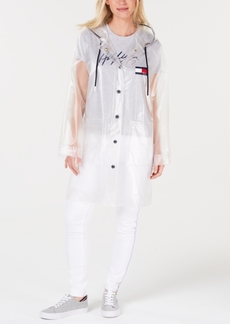 Tommy Hilfiger Clear Logo Raincoat, Created for Macy's