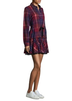 Tommy Hilfiger Flannel Tartan Cotton Shirtdress