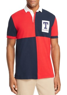 Tommy Hilfiger Color-Block Rugby Polo Shirt