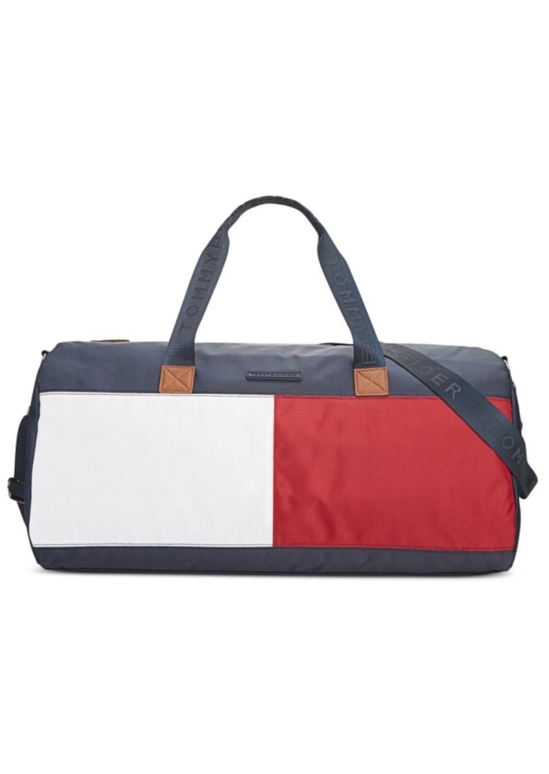 4dd1497eb5 Tommy Hilfiger Tommy Hilfiger Colorblock Flag Nylon Duffle | Handbags