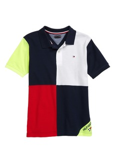 Tommy Hilfiger Colorblock Polo (Big Boy)