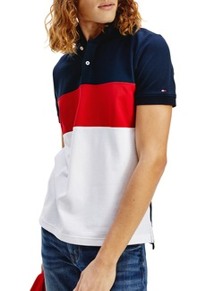 Tommy Hilfiger Colorblock Regular Fit Polo