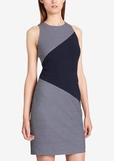 Tommy Hilfiger Colorblock Striped Sheath Dress