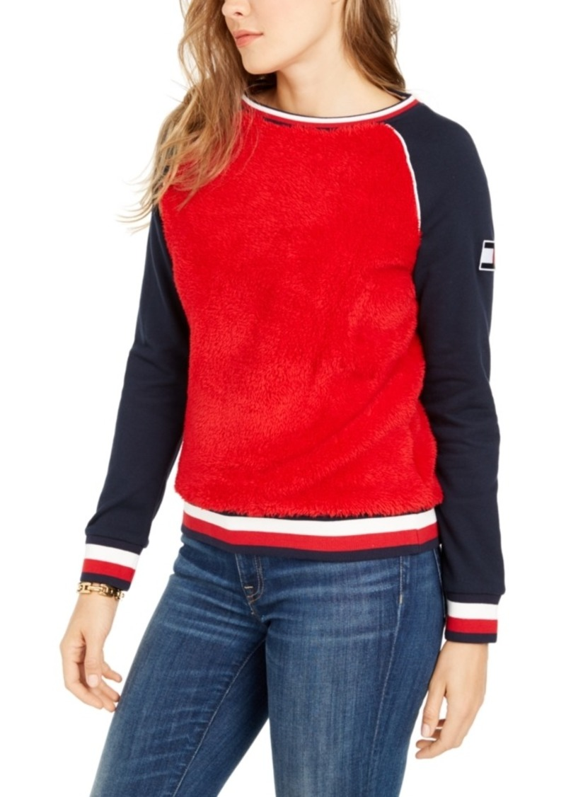 Tommy Hilfiger Colorblocked Fleece Sweatshirt