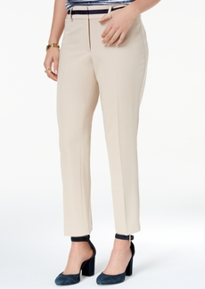 Tommy Hilfiger Colorblocked-Waist Trousers, Created for Macy's