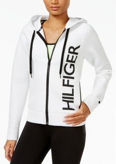Tommy Hilfiger Contrast-Trim Graphic Hoodie, A Macy's Exclusive Style