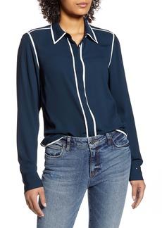 Tommy Hilfiger Contrast Trim Woven Shirt