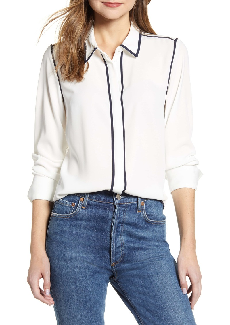 Tommy Hilfiger Contrast Trim Woven Shirt