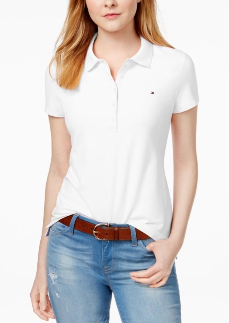 Tommy hilfiger tommy hilfiger core polo shirt created for for Tommy hilfiger shirt size