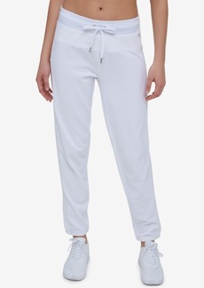 Tommy Hilfiger Cotton Eyelet-Trim Sweatpants, Created for Macy's