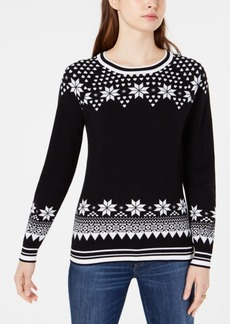 Tommy Hilfiger Cotton Fair Isle Sweater, Created for Macy's