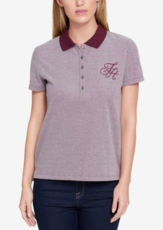 Tommy Hilfiger Cotton Polo Top, Created for Macy's