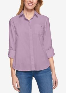 Tommy Hilfiger Cotton Roll-Tab Shirt