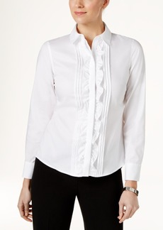 Tommy Hilfiger Cotton Ruffled Blouse