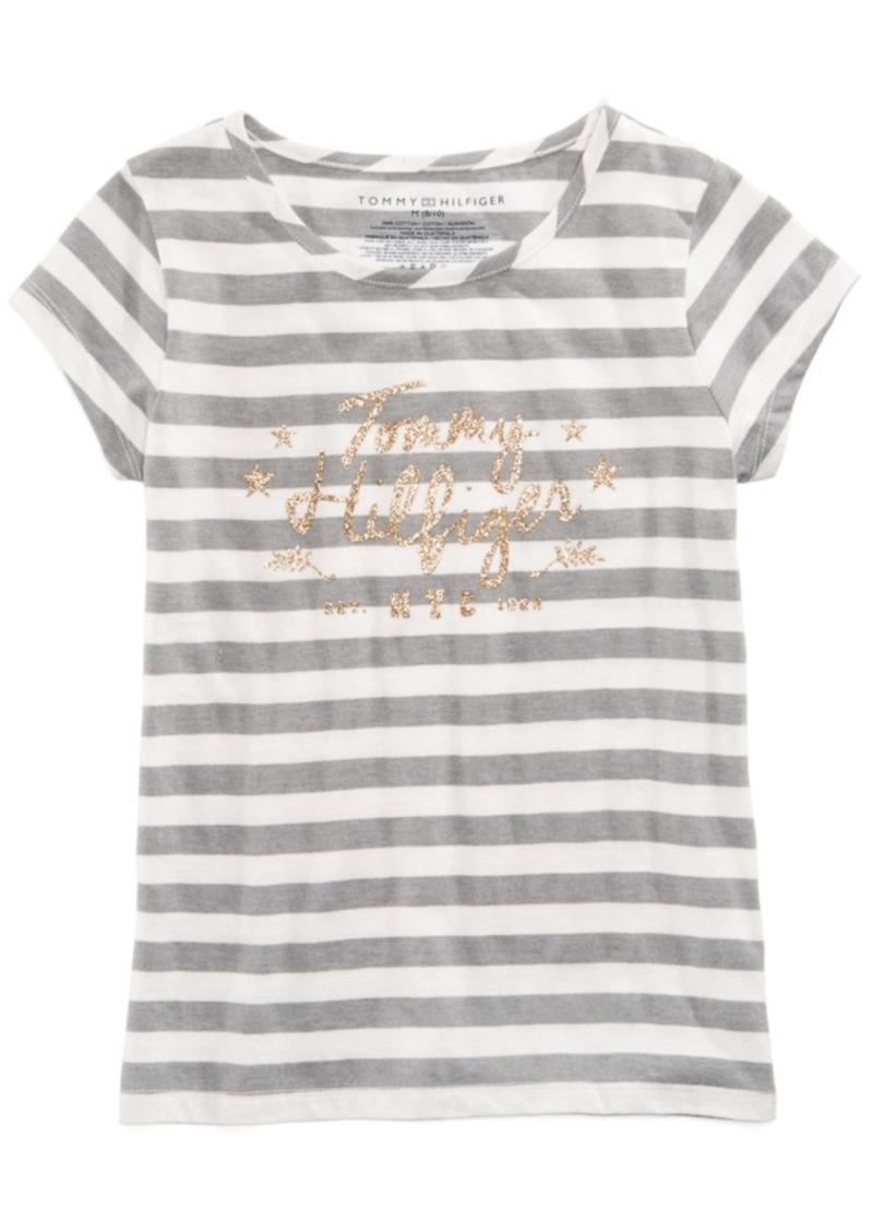 7a2565d9 Tommy Hilfiger White T Shirt Big Logo